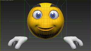 smile base 3d model