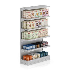 3d model shelf nuts market