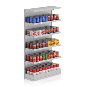 max supermarket shelf canned tomatoes