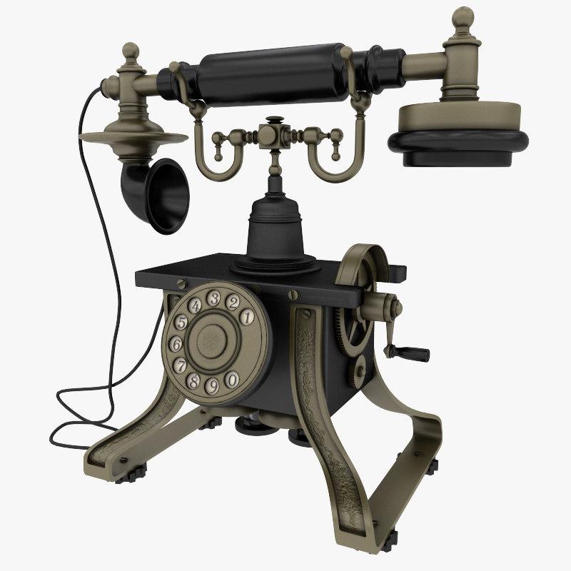 maya antique phone