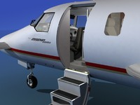 3d 3ds cockpit ultra beechcraft starship