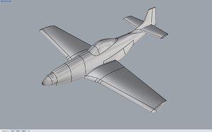 obj p51 plane