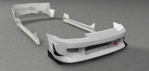 3d body kit nissan silvia model