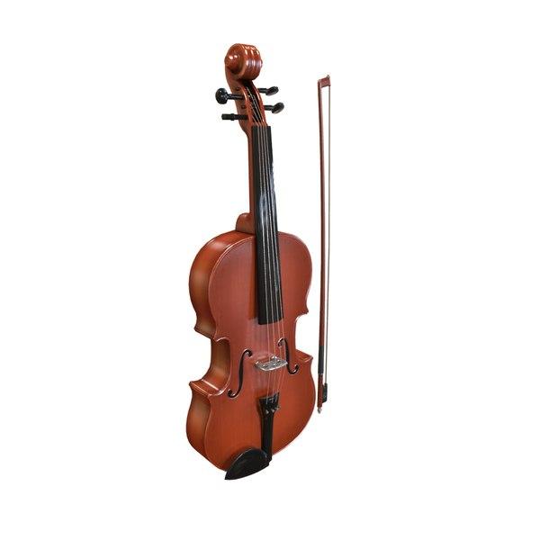 violin 3d max