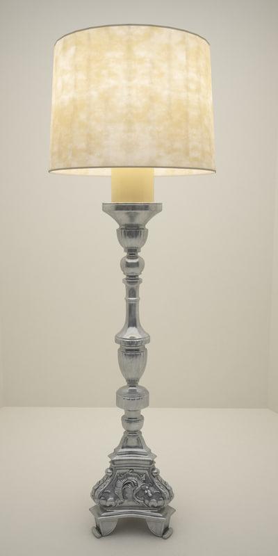 floor lamp 14 3d max