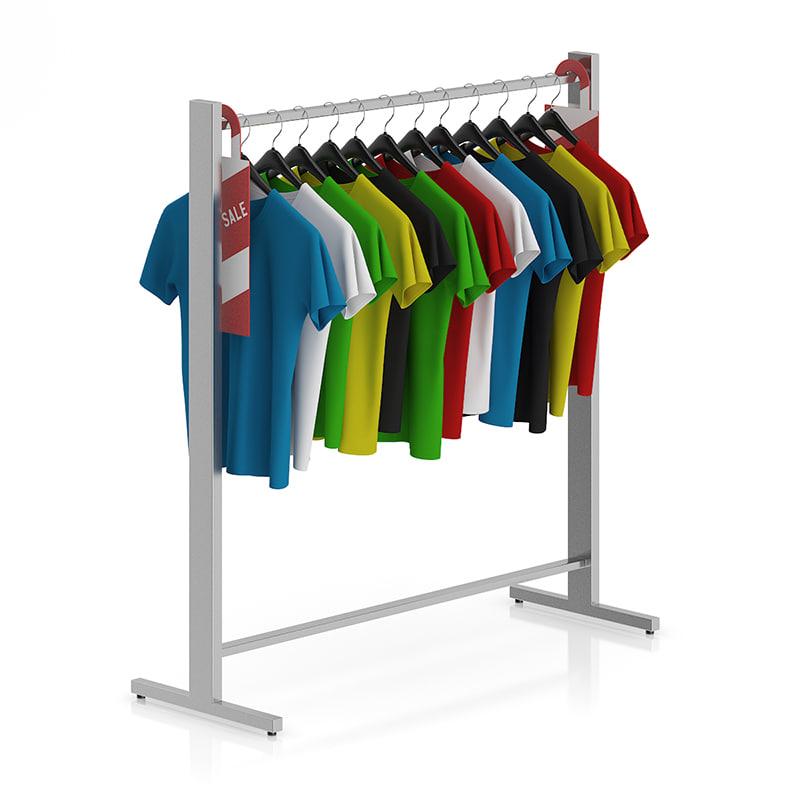 3d t-shirt hangers