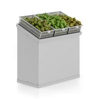 Market Shelf - Pears