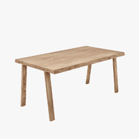 gijs doble table 3d model