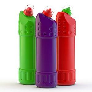 c4d sauce bottle