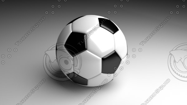 free obj mode simple soccer ball stitches