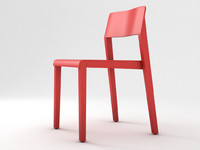 thonet 330 st chair 3d obj