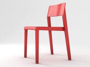 thonet 330 st chair 3d obj