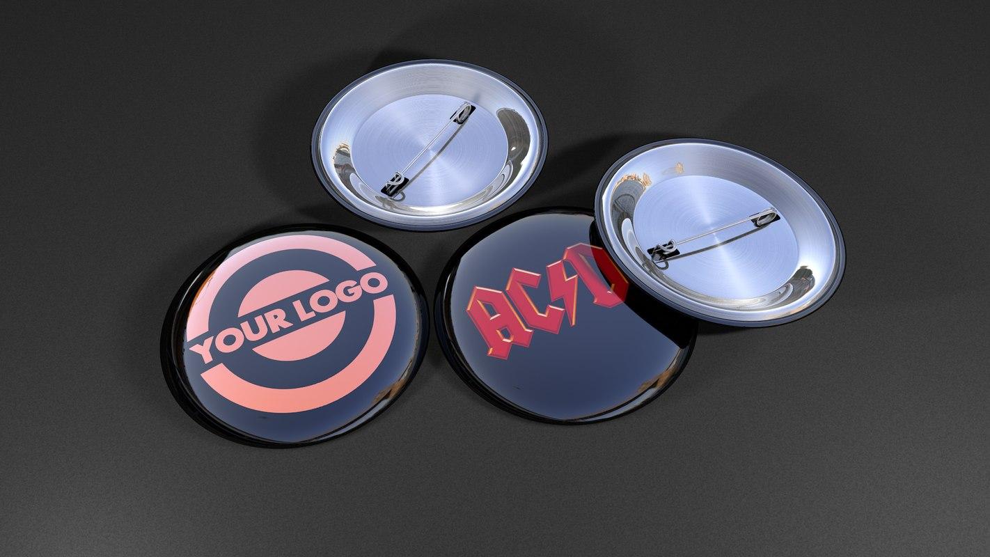 c4d button badges