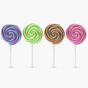 3ds max lollipop 4 colors