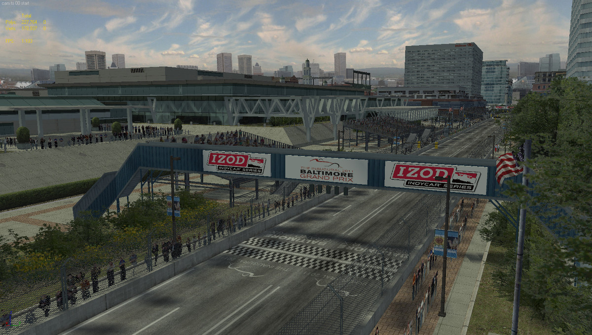 max streets baltimore track