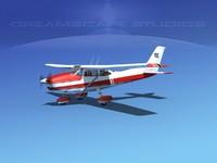 skyline cessna 182 skylane 3d model