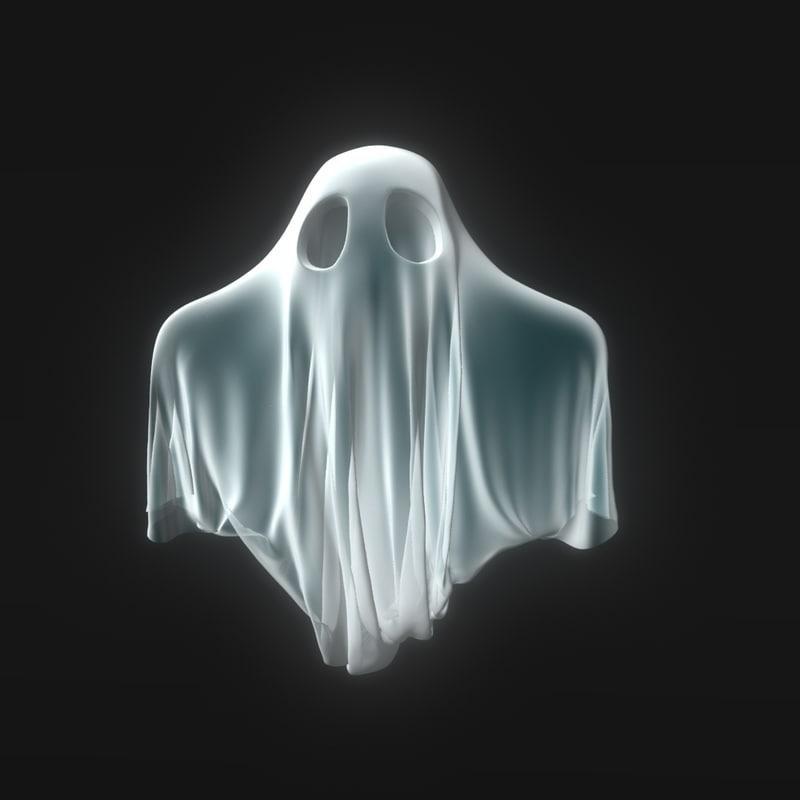 little ghost 3d model