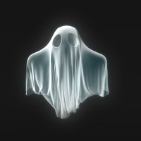 little ghost 3d model