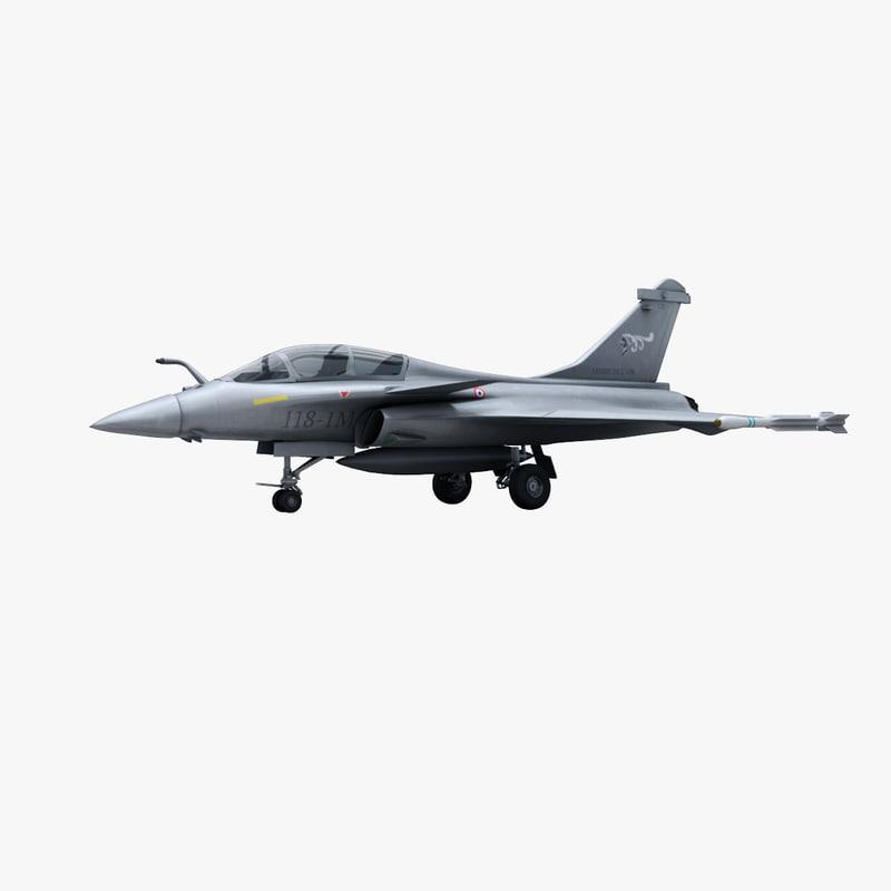3d model fighter aircraft