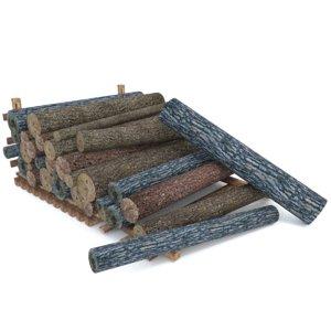 wood log 2 3d model