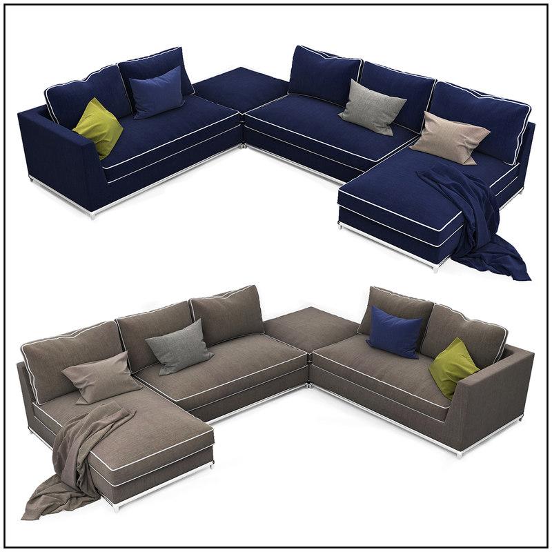 sofa 08 3d model