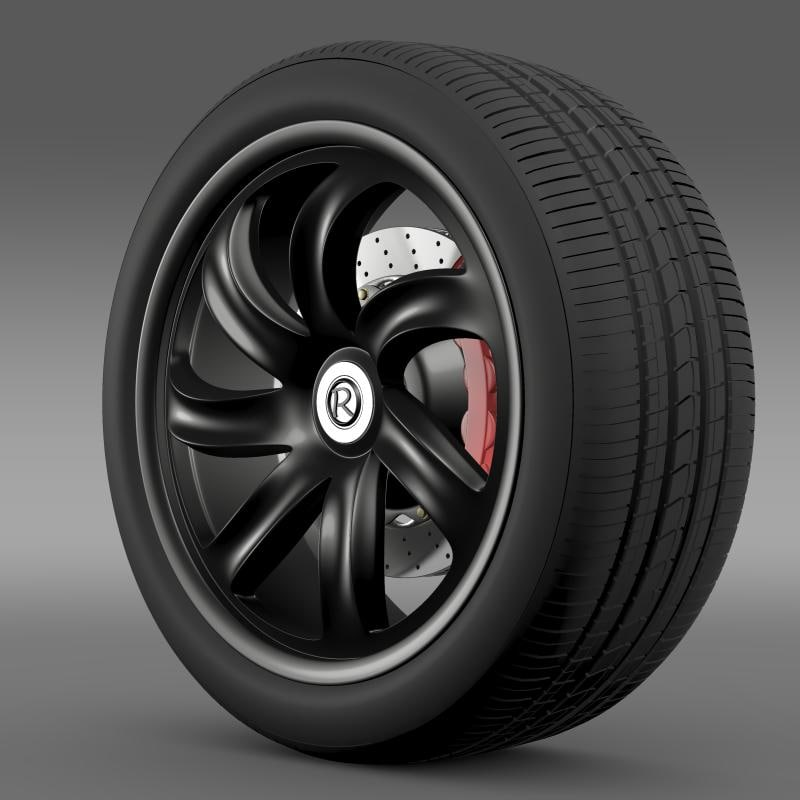 3ds max custom wheel