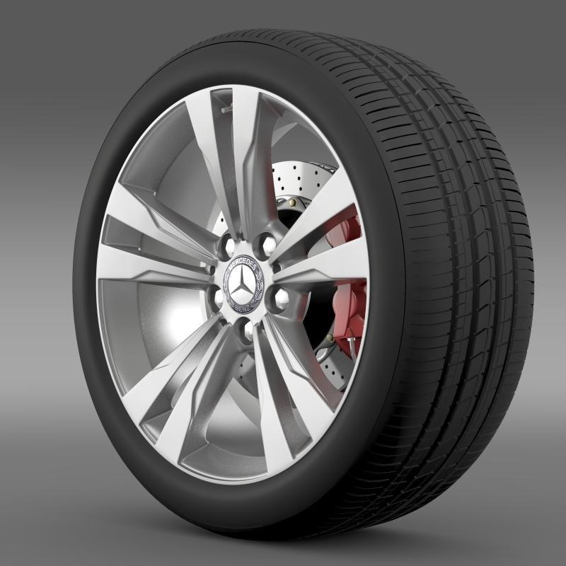 3d model of mercedes benz s