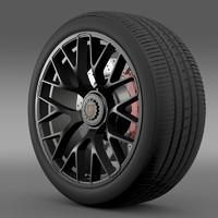Porsche GTS 2015 wheel