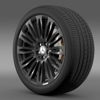Mercedes Benz S 600 wheel