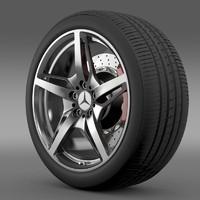 3d mercedes benz amg model