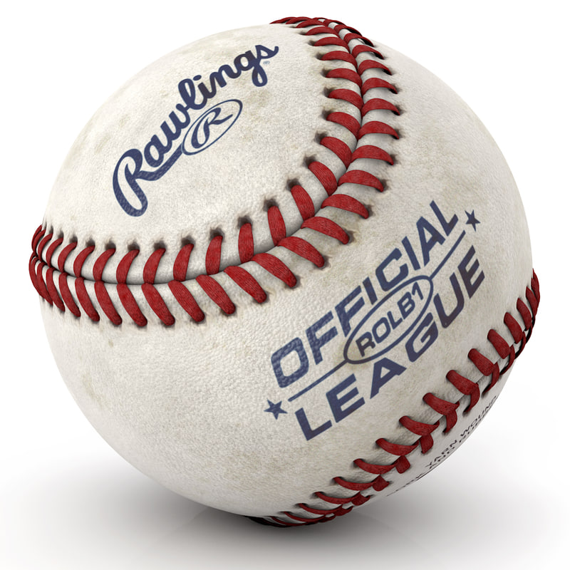 modeled baseball 3d c4d