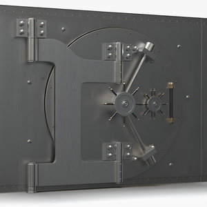 3ds max vault bank safe