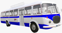 3ds max historical bus