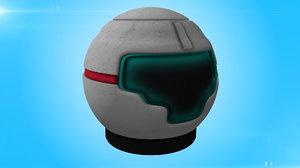 space helmets 3d model