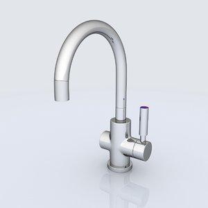 3d water tap model
