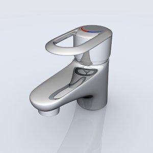 water tap 3d model