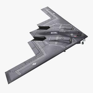 northrop grumman b-2 spirit 3ds