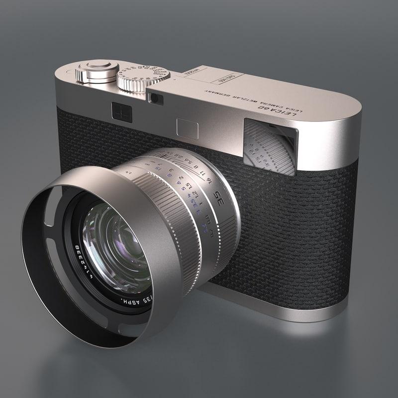 3d max photoreal digital camera leica