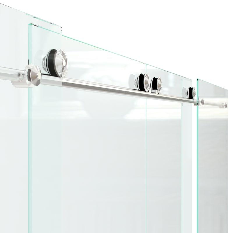 sliding glass door 3d obj