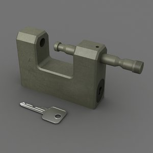 padlock lock 3ds