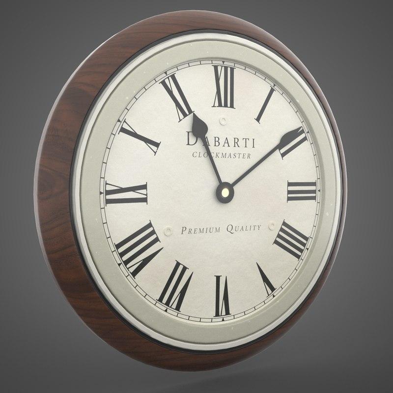 max vintage clock