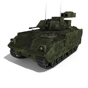 3d model m2 bred