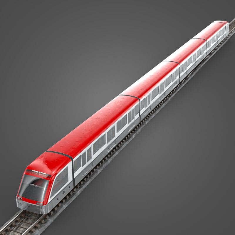 Modern Subway Train(1)