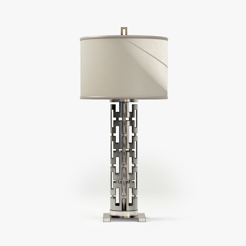 3d model fine lamps allegretto silver