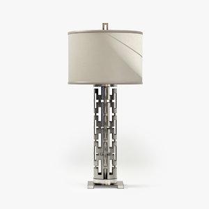 3d model fine lamps allegretto silver