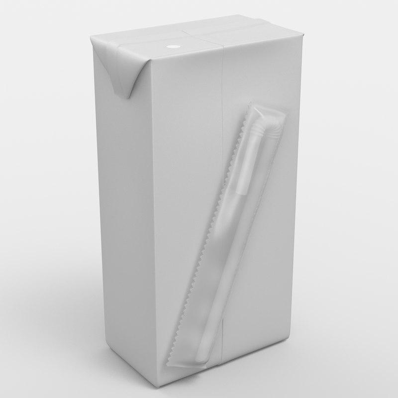 3d model beverage package