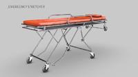 emergency stretcher 3d 3ds