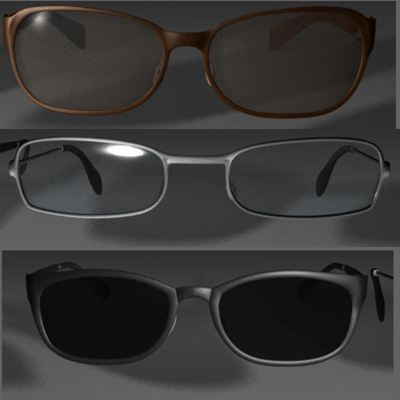 3d reading glasses model