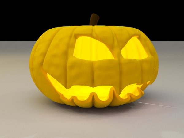 free pumpkin 3d model