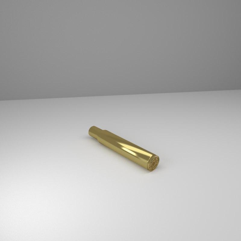 bullet casing 3d model